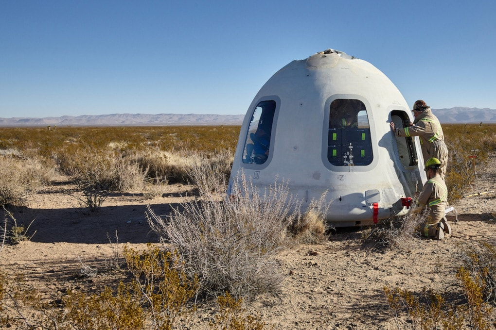 The first space tourist: Bezos, Branson or ...