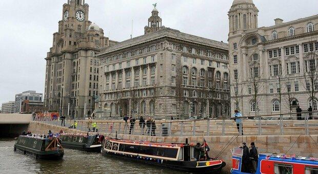UNESCO, Liverpool Harbor is no longer a World Heritage Site.  British IRA government