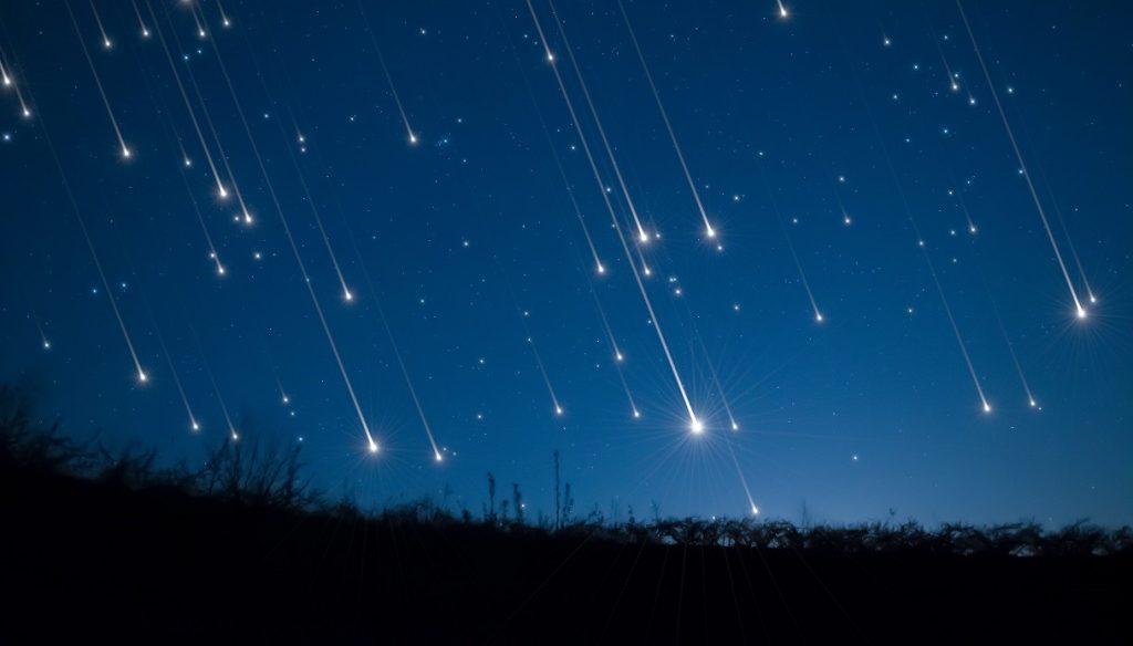 Come guardare due piogge di meteoriti allo stesso tempo