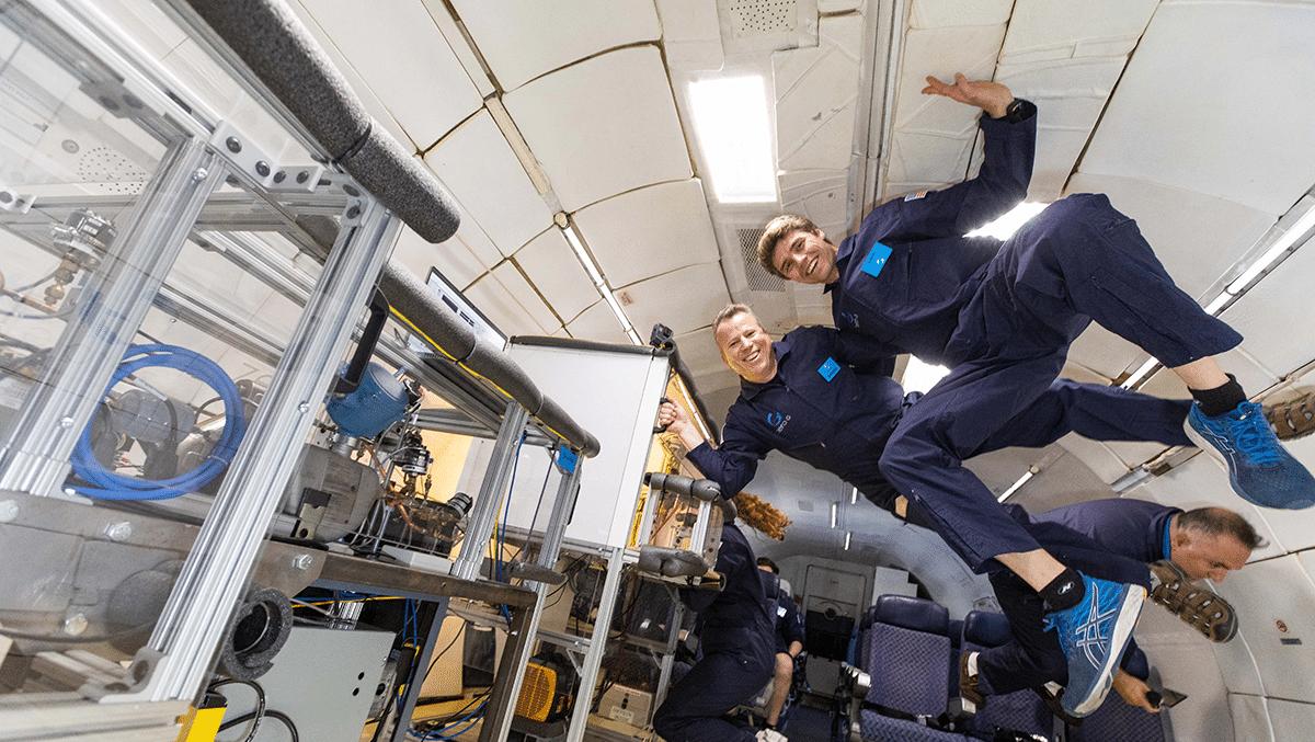 Whirlpool designs zero-gravity refrigerator for mini space missions
