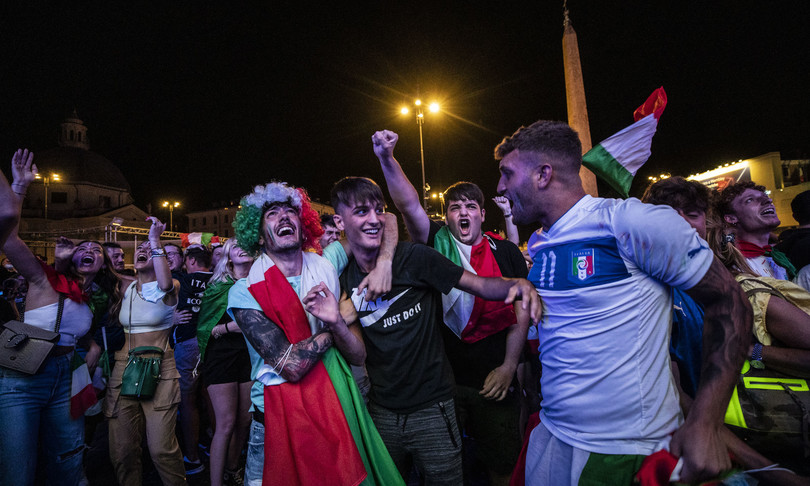 With blue victories, Italians celebrate a return to normality