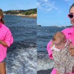 """Chiara Ferragni, first photo of Vittoria on the beach in Sardinia.  Details that infuriate the masses: """"This is not possible …"""""""