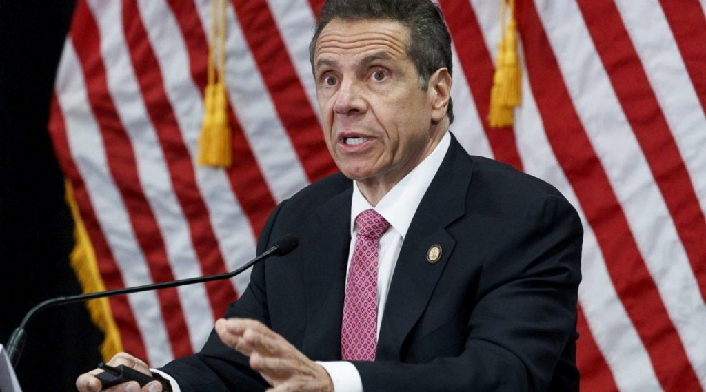 Andrew Cuomo, Governor of the United States of America, has resigned