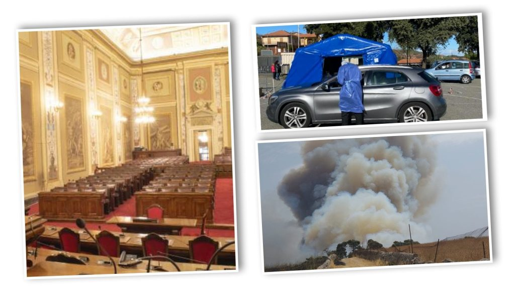 Holiday of regional delegates in Sicily in case of emergency