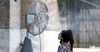 Record heat across Italy on the weekend of August: