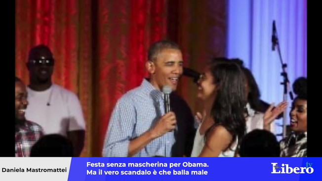 Barack Obama was surprised at his 60th birthday party: The former US president can't dance
