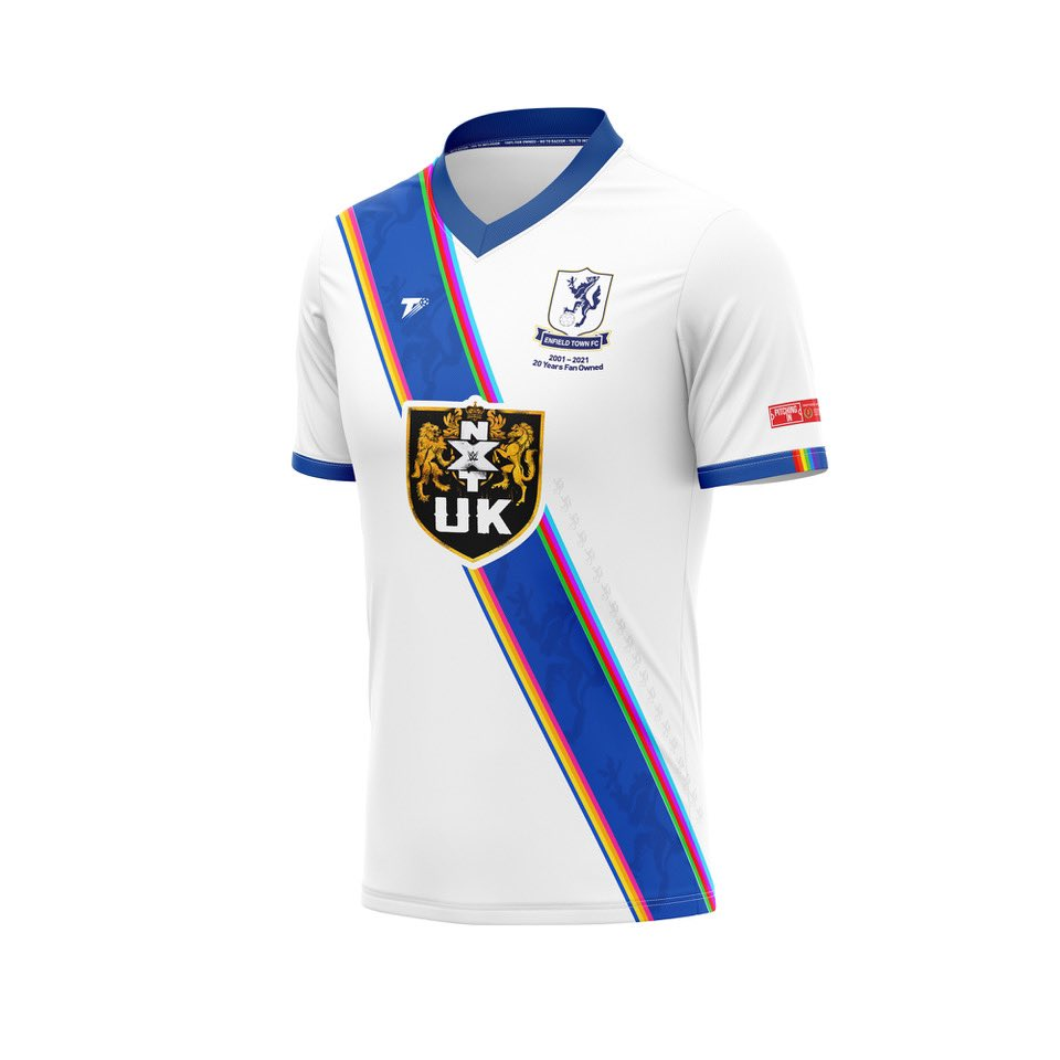 Photo: WWE becomes a sponsor of an English soccer team, here's the shirt