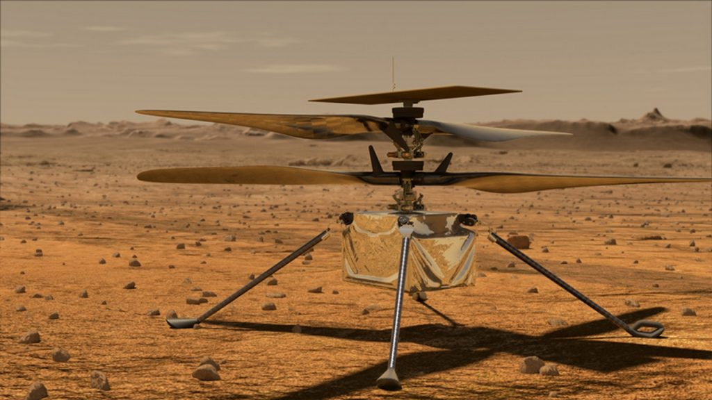 NASA's creativity once again photographed the persevering Mars rover