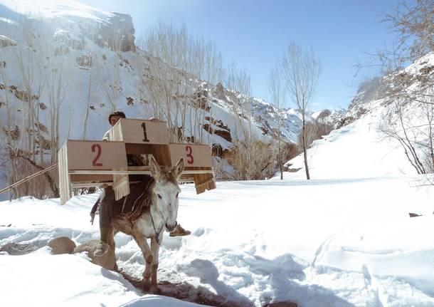 Skiers in Afghanistan