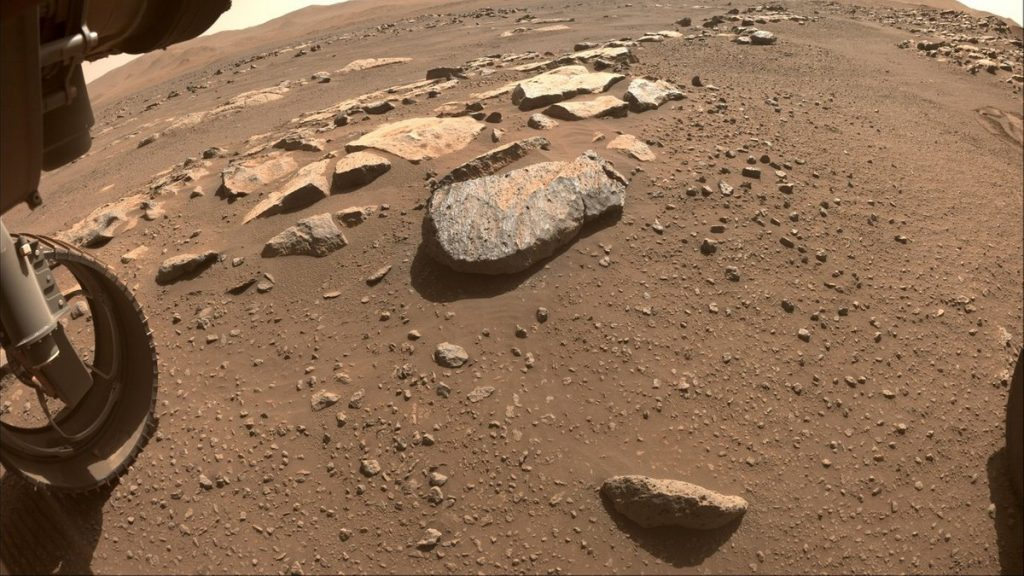 Perseverance is trying again, a new attempt to collect samples from Mars