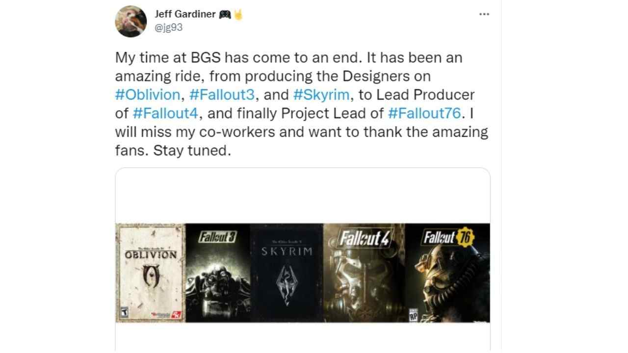 """Bad news for Fallout, director leaves: """"I will miss"""""""