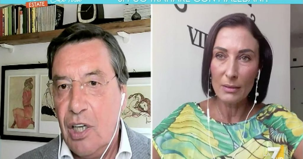 """Air pulls """"The Democratic Party has very close relations with China.""""  Brawl in the studio, Morani Speech - TIME"""