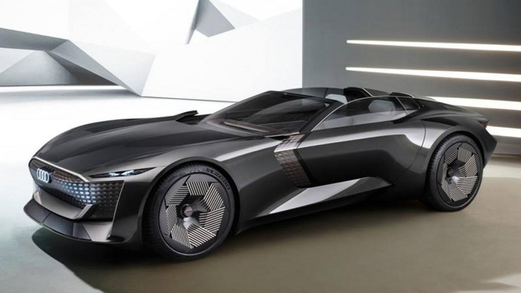 Audi skysphere concept: features and data of the 630 hp electric roadster