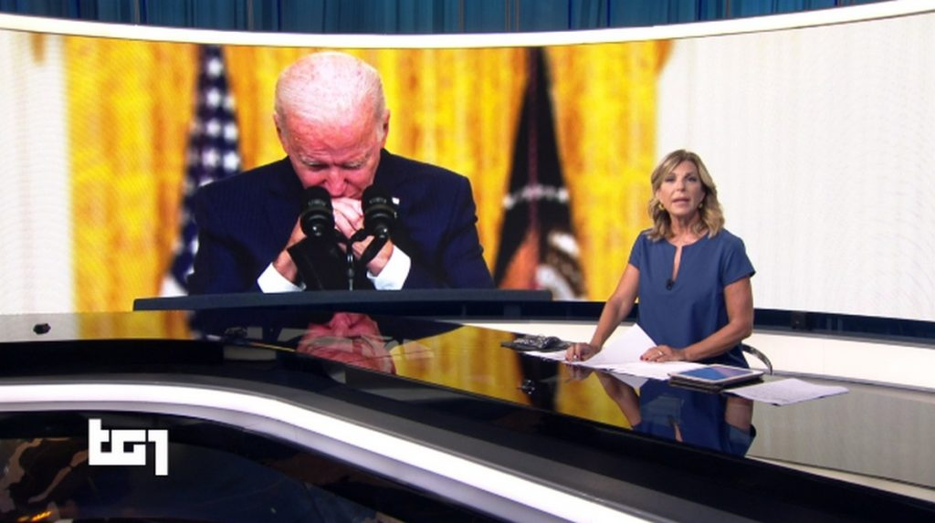 Le 'lacrime' di Biden e la distorsione delle immagini in tv (e sui social). È Kabul, non il Gf Vip!