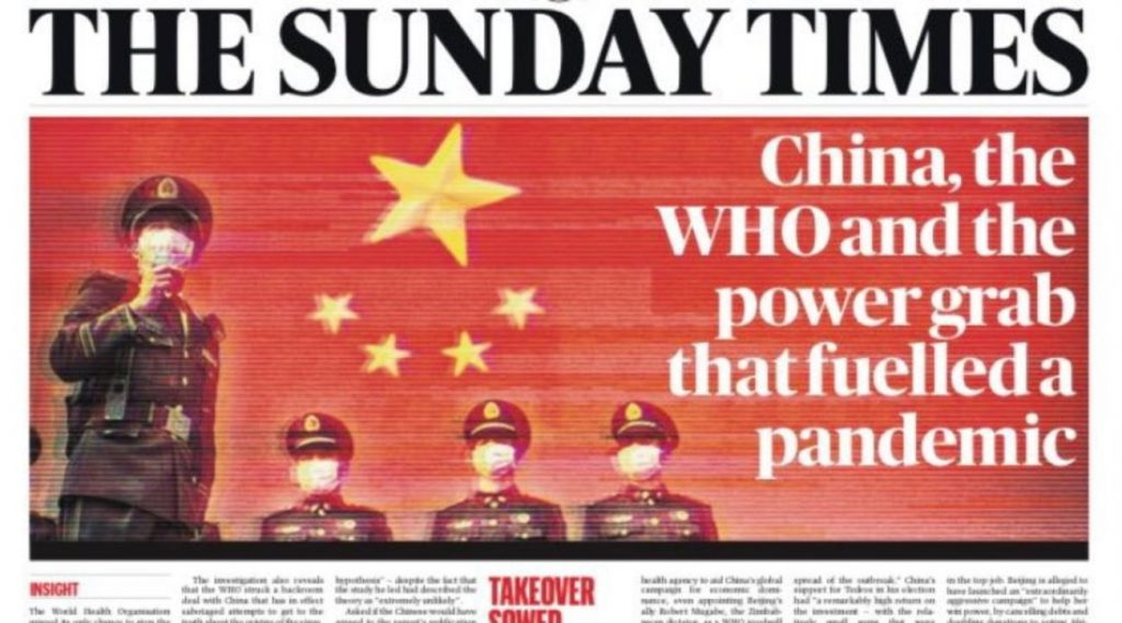 """""""China's rise to the top of the World Health Organization and the explosion of the epidemic"""""""