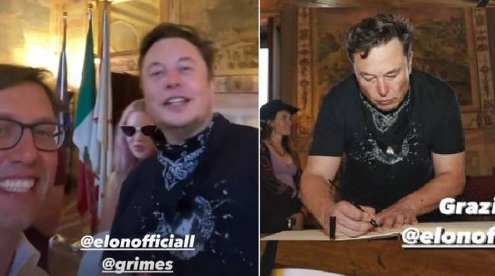 Elon Musk was really in Florence: 'Visit it', the megalopolis of the city - Chronicle