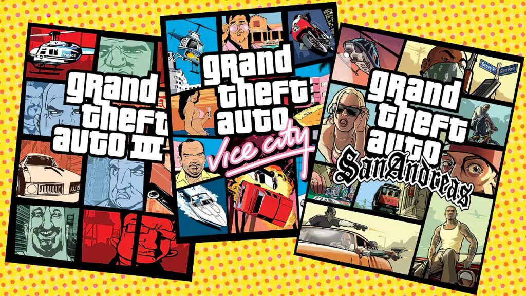 GTA 3, Vice City and San Andreas Remastered su Switch, PlayStation e Xbox?  Kotaku Conference