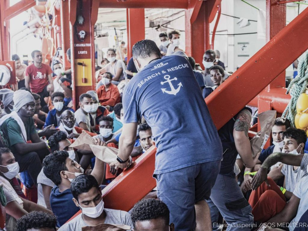 Immigrants, boom in illegal arrivals.  Begins to compress lamorges