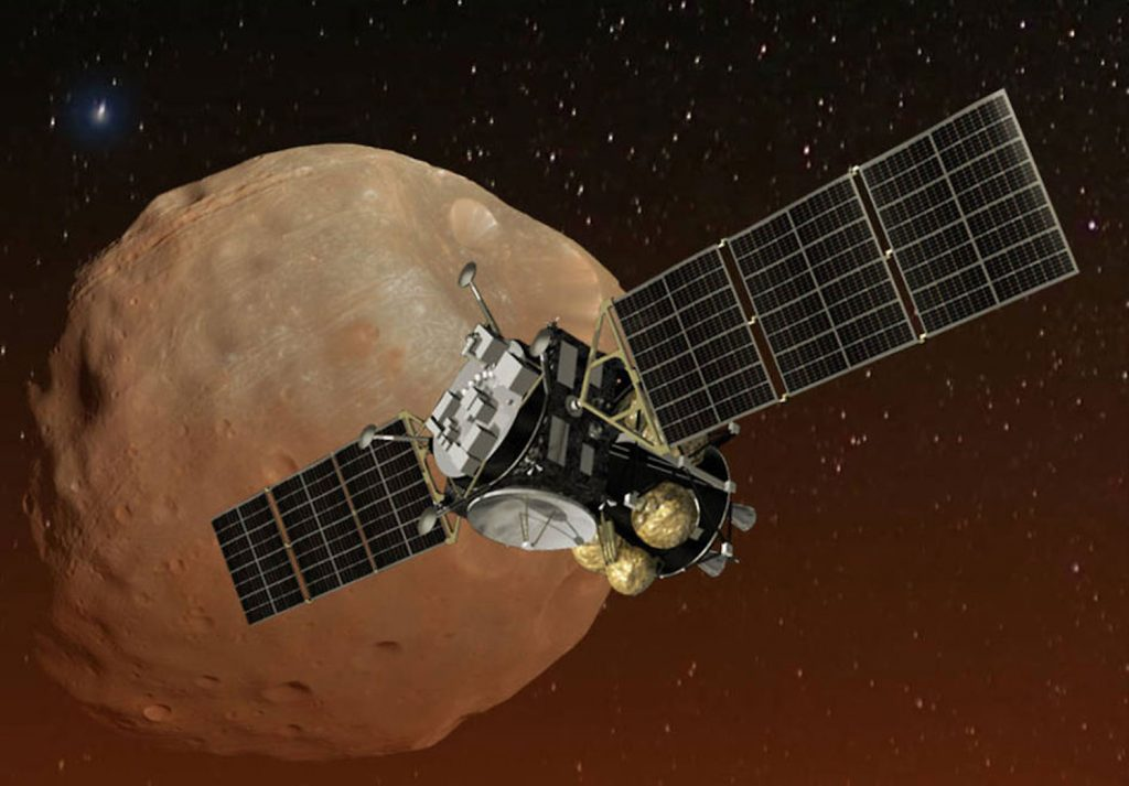 Japan will bring a piece of the moon of Mars to Earth