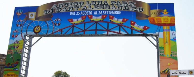 Luna Park is back in town.  To enter you need to go to the green lane