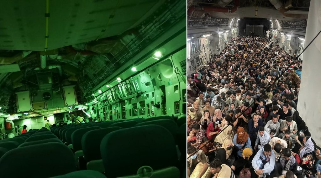 """""""My wife was evacuated on an empty plane as thousands of people are asking for help"""""""