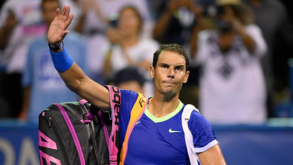 Nadal will also be missing from the US Open