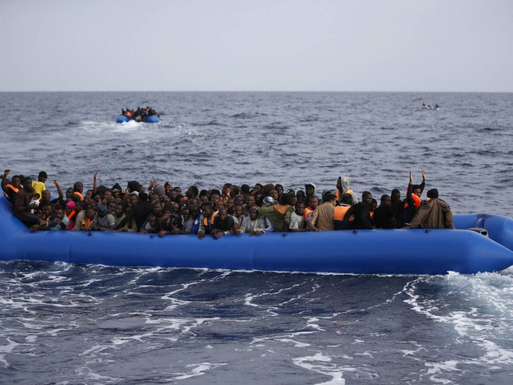 Nine out of ten illegal immigrants are in Italy