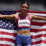 Olympics, McLaughlin gold, world record in 400 hurdles