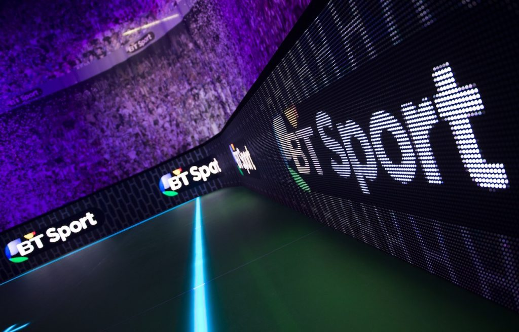 Serie A in the UK and Ireland on BT Sport until 2024