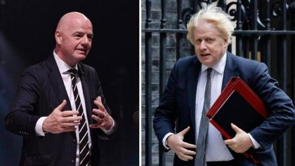 The players called up for the national team: the confrontation between Infantino and Boris Johnson and the championships