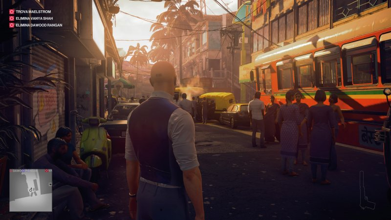 Hitman 2 offers another series of missions between stealth and shooting for Agent 47