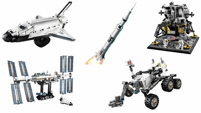 The best NASA-themed LEGO sets