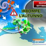 A new week, fall breaks with hurricanes loads of battle rain and more cold.  Outlook »ILMETEO.it