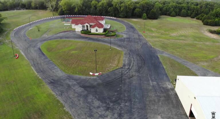 Little Talladega, AirBnb with a private circuit