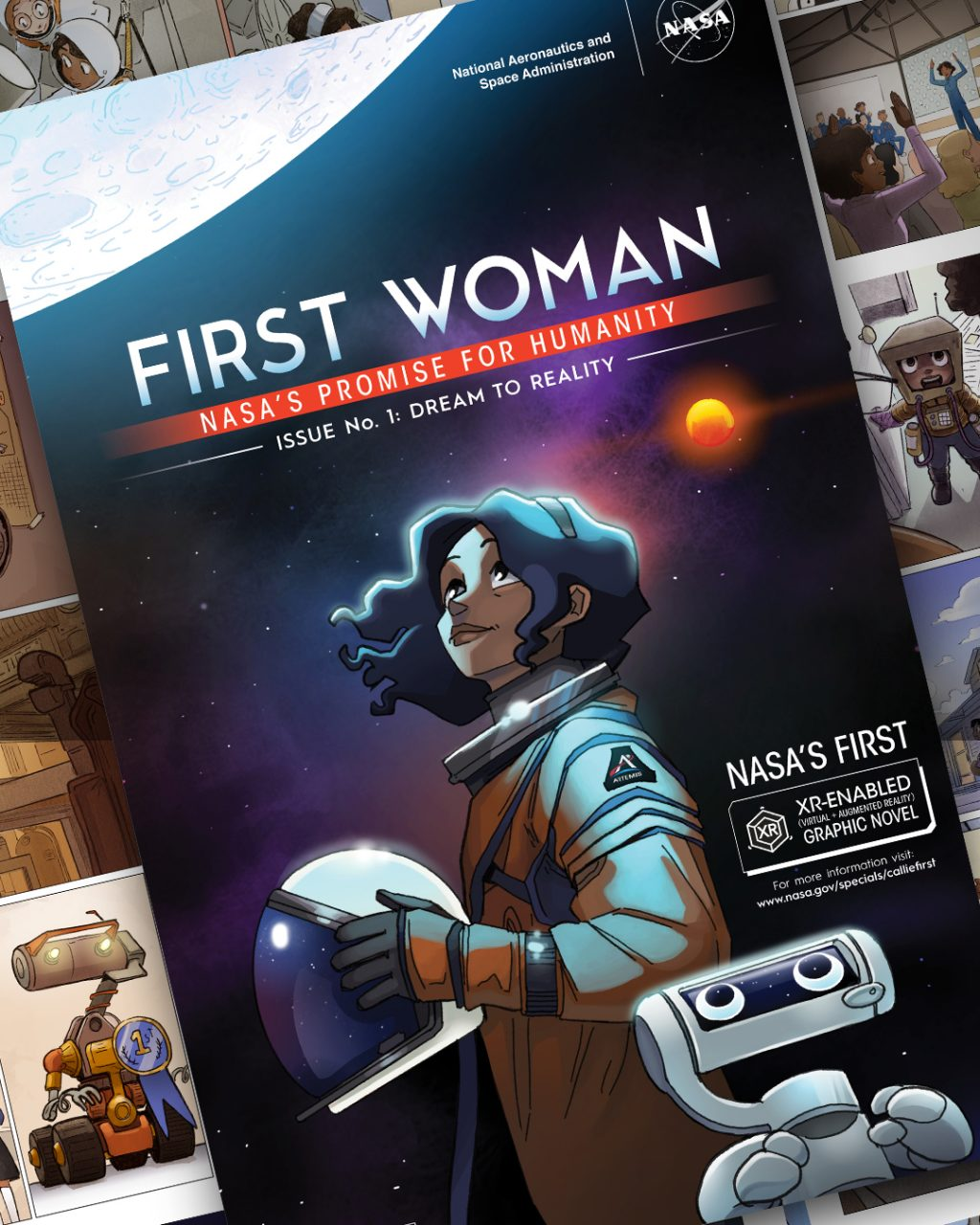 The first woman, the first woman on the moon