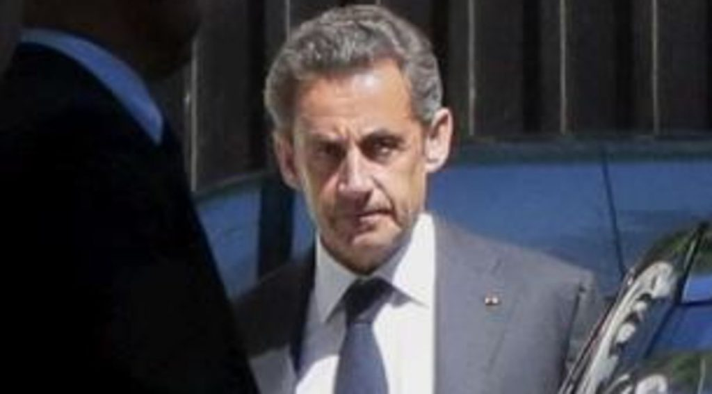 Paris, former President Sarkozy was convicted of illegal financing