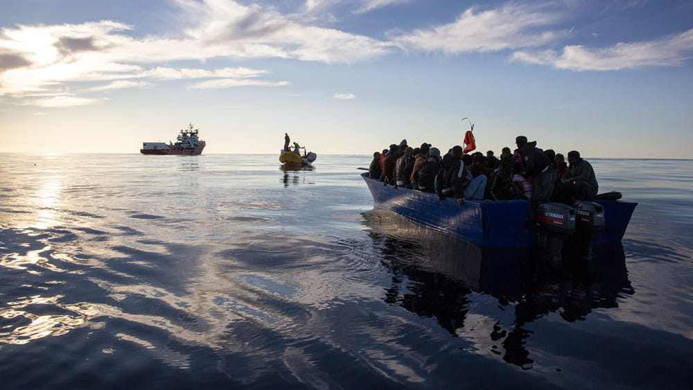 """""""Arrivals of migrants from Turkey to Italy tripled"""".  More landings also from Libya and Tunisia"""