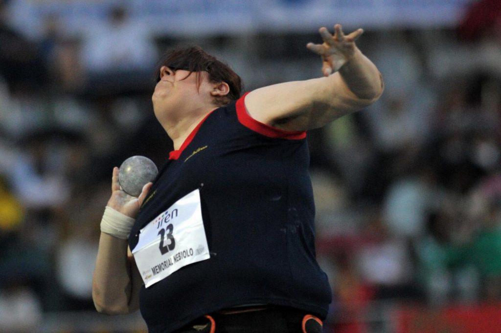 Assunta Legnante is the silver medalist in the women's F12 throw!  - OA Sport