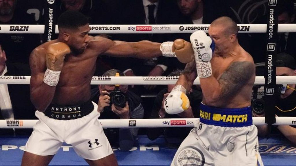Boxing, exciting in London: Usyk deposes Joshua, he's the king of perches