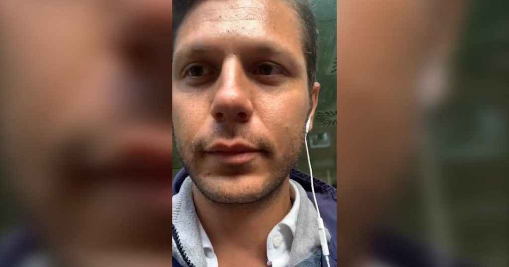 """Candidate for mayor of the 3V movement arrested in Trieste: he defended two users of the post office without a mask.  To the carabiner: """"You must obey me"""""""