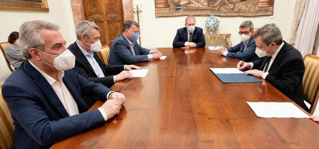 """Draghi's Pension/Trade Union Reform: """"Immediate Meeting with the Government"""""""