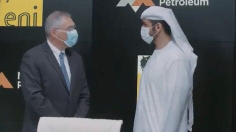 Eni and Mubadala Petroleum sign a memorandum of understanding for energy transition
