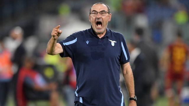 Lazio Roma, Maurizio Sarri responds to Mourinho and attacks the League