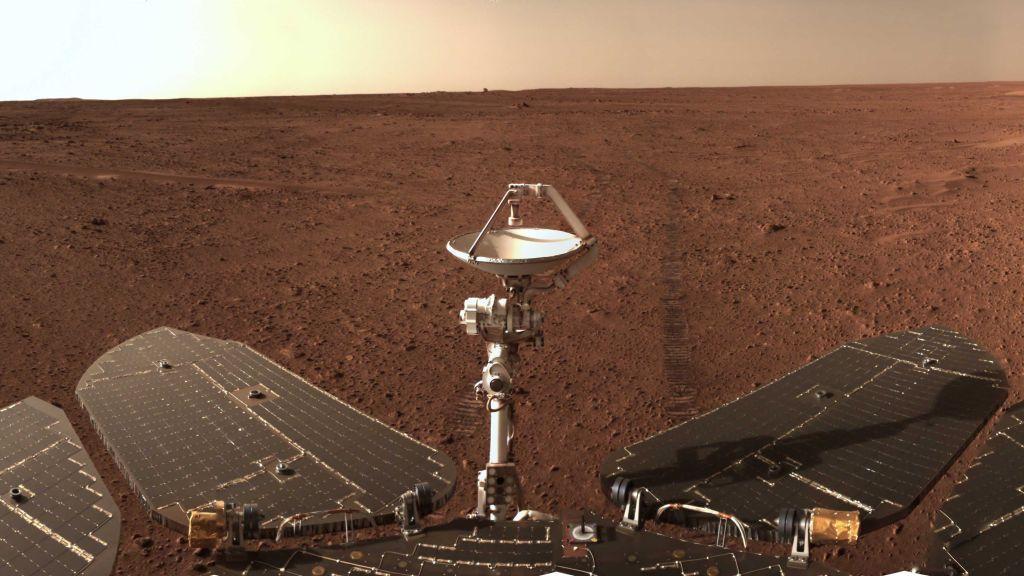 Marte, il 'riposino' di Zhurong