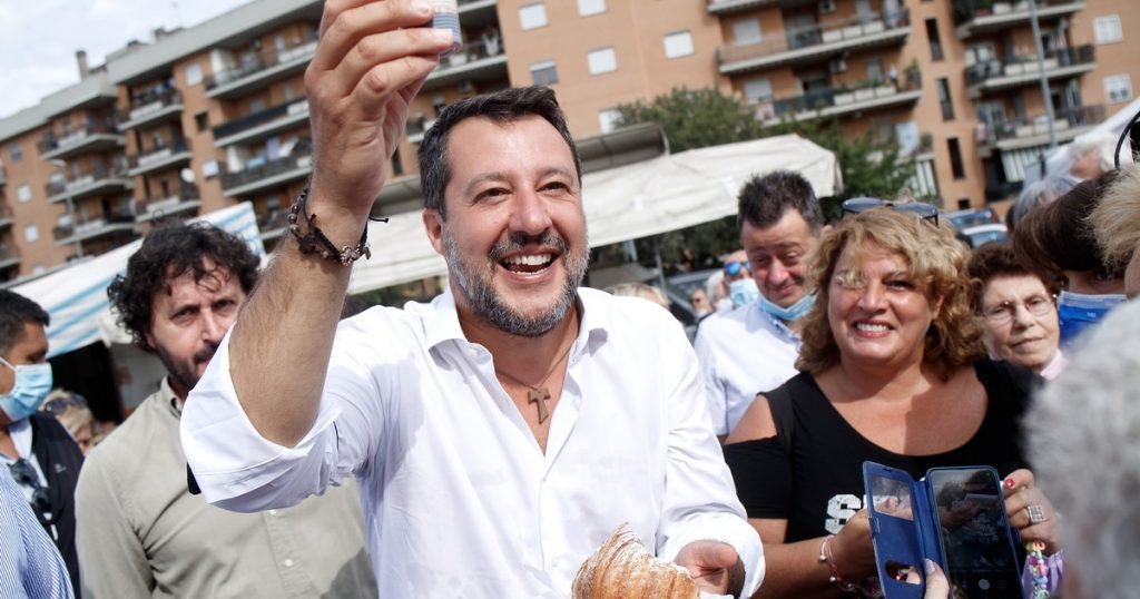 Matteo shrinks Salvini League, launches 5 government programs on vaccines - Tempo