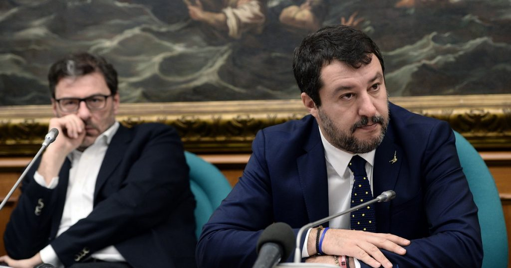Salvini by Georgette, Gia and Federica - not in tempo order