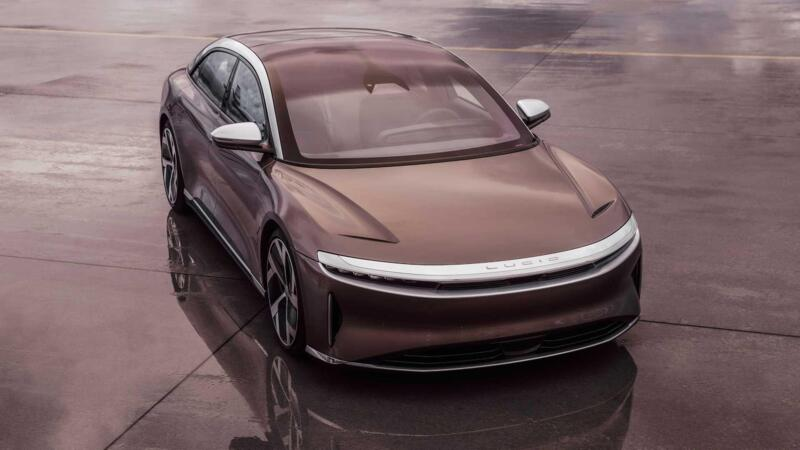 The Model S competitor comes from the United States