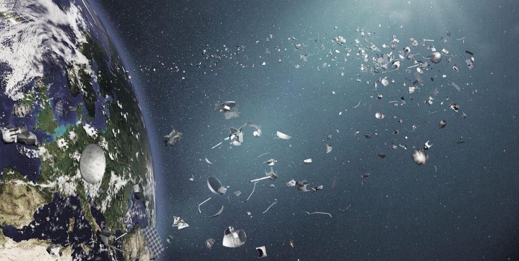 We are about to send a space vacuum cleaner to collect debris and satellites