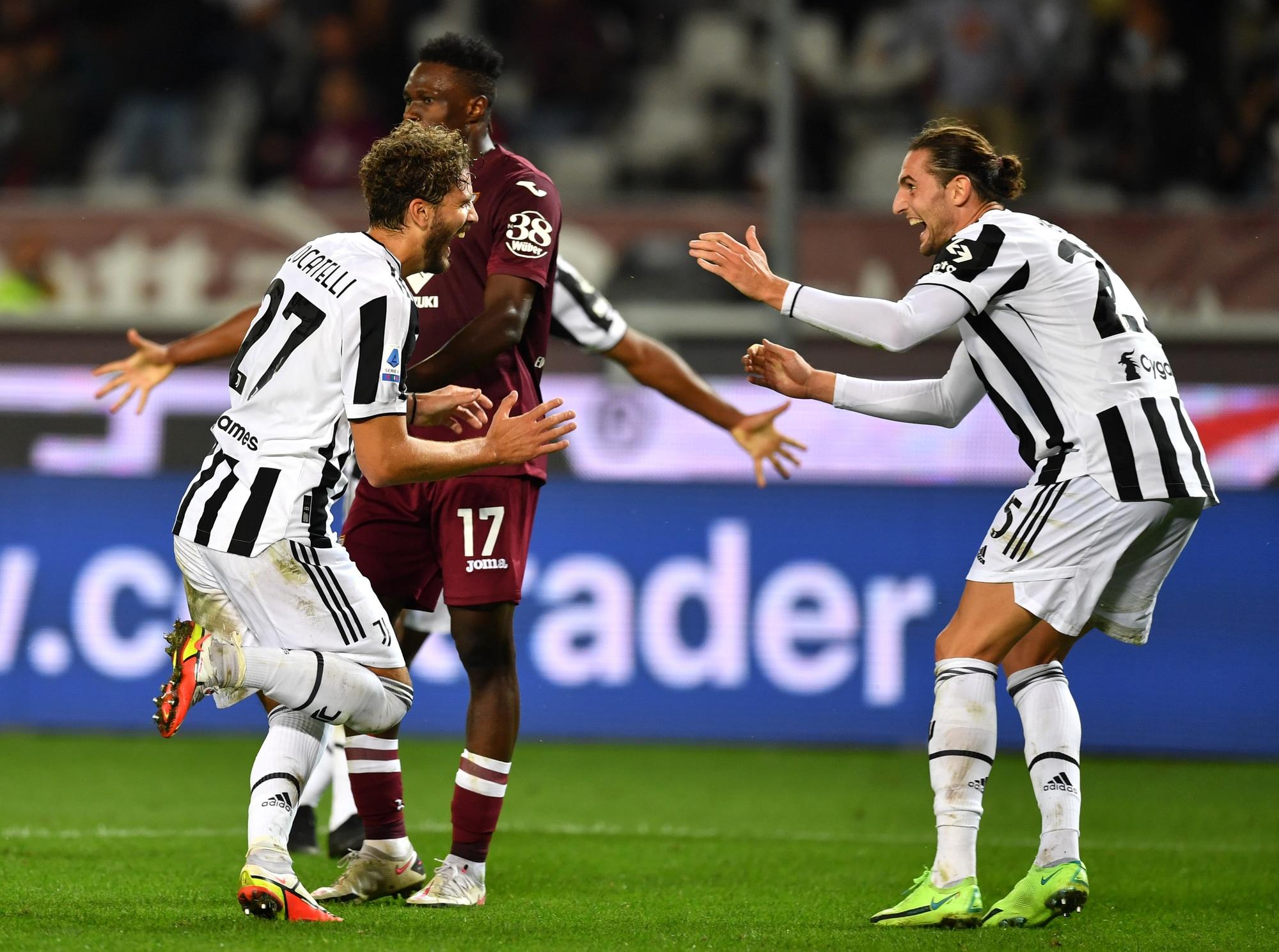 Locatelli wins the Turin derby: Juventus Allegri wins again
