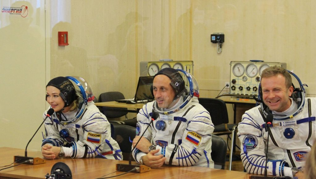 """""""The Challenge"""", the first Russian film to be shot in space: behind the camera Klim Shipenko"""